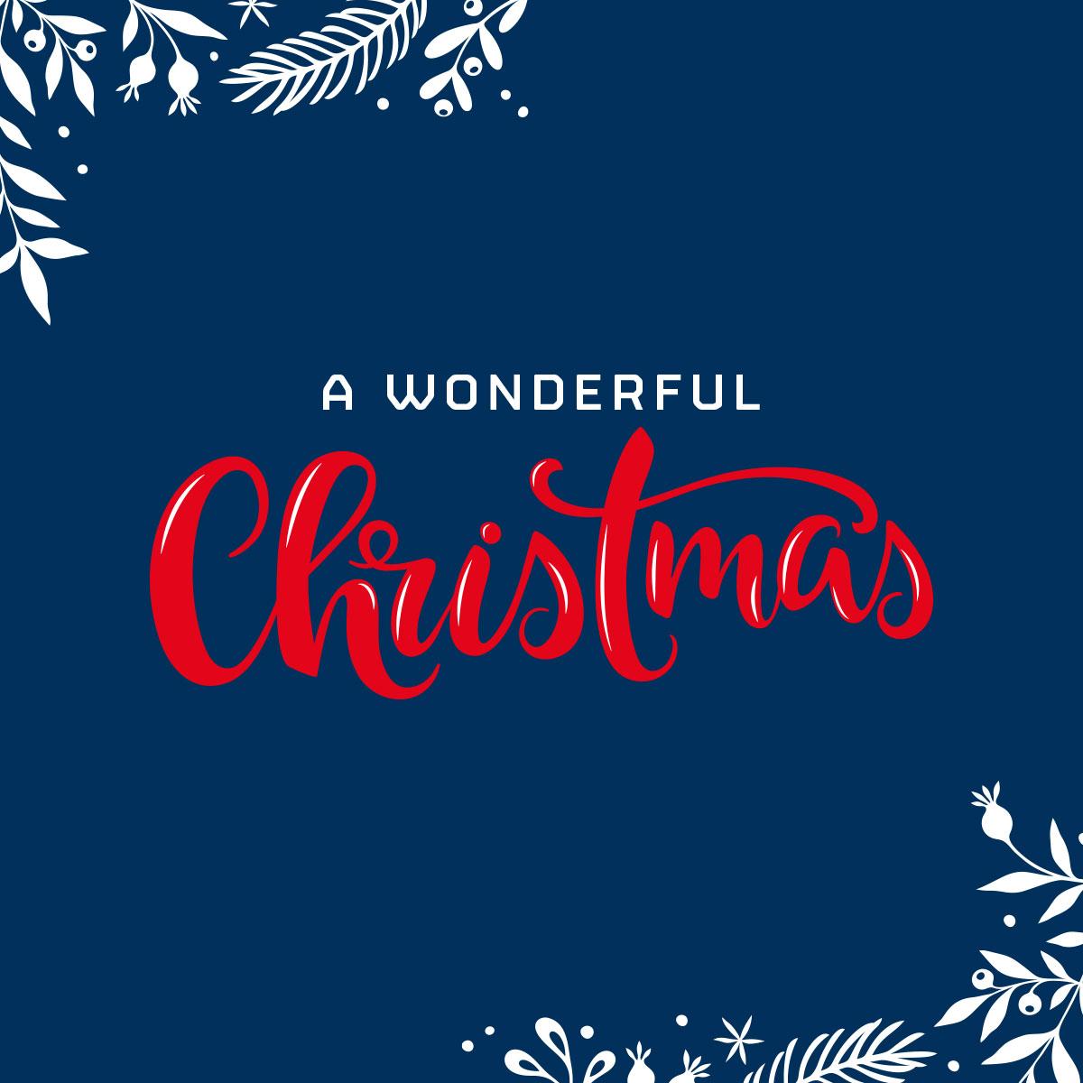 Frohe Weihnachten und ein schönes neues Jahr 2021