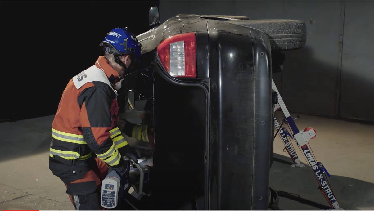 VEHICLE EXTRICATION – THE NEXT GENERATION: SpreadRearSeatBacks